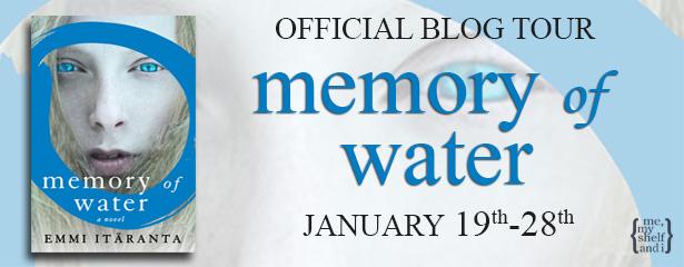 Blog Tour: Memory Of Water