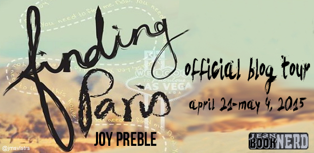 Blog Tour: Finding Paris By Joy Preble