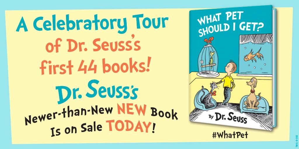 Dr. Seuss Classic Celebratory Tour!